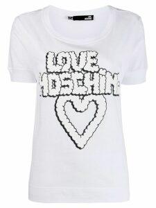 Love Moschino graphic T-shirt - White