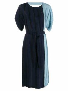 Golden Goose colour block dress - Blue