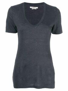 Isabel Marant Étoile scoop neck T-shirt - Grey