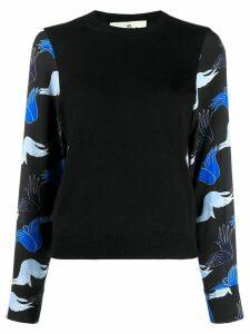Marni x Bruno Bozzetto round neck sweater - Black
