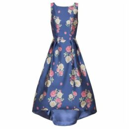 Chi Chi Digital Floral Print Midi Dress