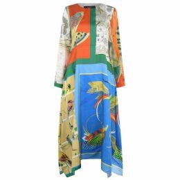 Max Mara Weekend MMW Abile Midi Dress Ld93
