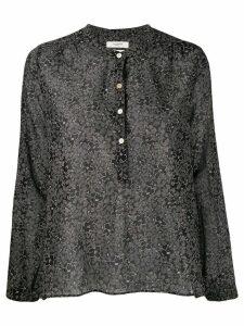 Isabel Marant Étoile relaxed floral shirt - Black
