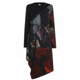 Crea Concept Abstract Midi Dress