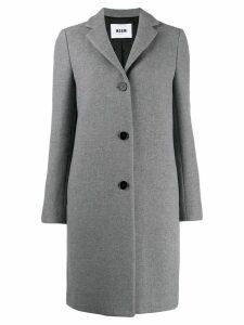 MSGM classic style coat - Grey