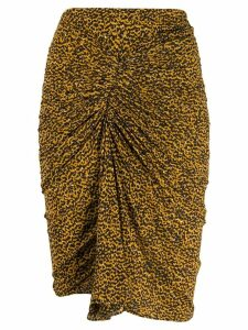 Isabel Marant Jominy skirt - Yellow