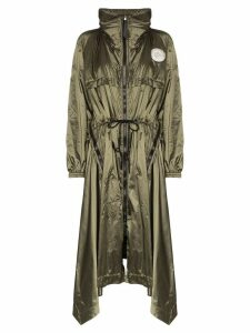 Chloé hooded raincoat - Green