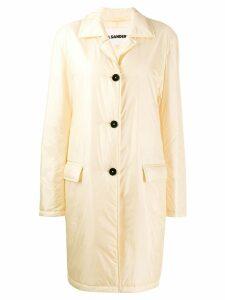 Jil Sander oversized trench coat - NEUTRALS