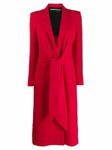 Roland Mouret Hollywell Coat - Red