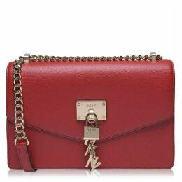 DKNY Elissa large shoulder bag with flap