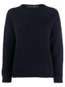 Incentive! Cashmere relaxed jumper - Blue