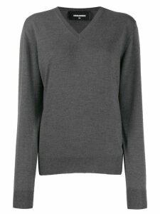 Dsquared2 logo intarsia jumper - Grey