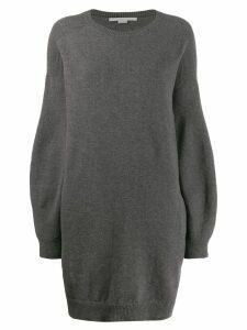 Stella McCartney knitted sweater dress - Grey