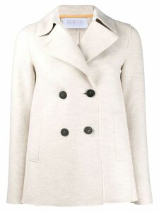 Harris Wharf London double breasted peacoat - Neutrals