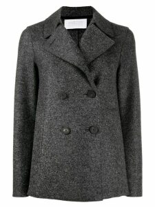 Harris Wharf London double breasted peacoat - Grey