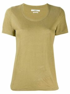 Isabel Marant Étoile round neck T-shirt - Green