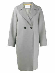 Harris Wharf London double-breasted coat - Grey