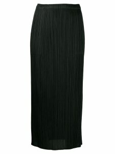 Pleats Please By Issey Miyake pleated midi skirt - Black