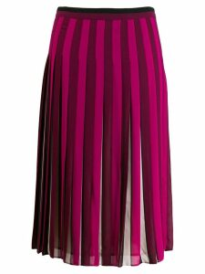 Michael Michael Kors pleated midi skirt - Pink