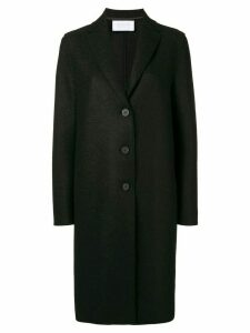 Harris Wharf London boxy buttoned coat - Black