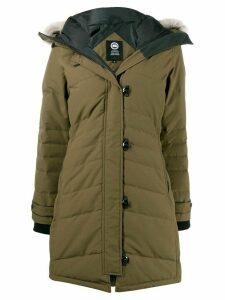 Canada Goose padded parka coat - Green