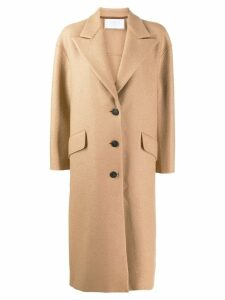 Harris Wharf London flap pocket detail coat - Neutrals