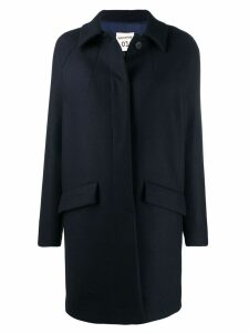 Semicouture single breasted overcoat - Blue