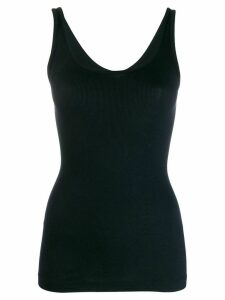 Vince basic ribbed vest - Blue