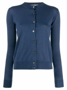 Marni round neck cardigan - Blue