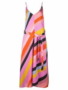Stine Goya Gianna striped dress - Pink