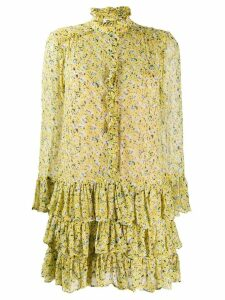 Zadig & Voltaire Rebbie anemone dress - Yellow