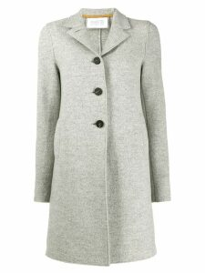 Harris Wharf London single breasted coat - Grey