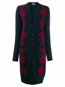 See By Chloé long patterned cardigan - Blue