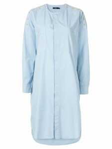 Bassike shirt dress - Blue