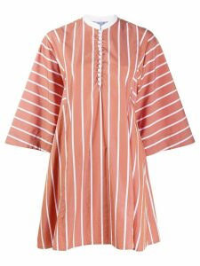 Thierry Colson striped tunic - Neutrals