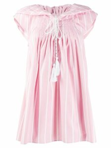 Thierry Colson striped day dress - Pink
