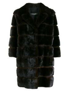 Simonetta Ravizza mink fur coat - Brown
