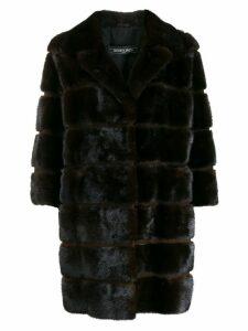 Simonetta Ravizza mink fur coat - Brown