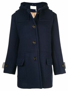 Chloé hooded coat - Blue