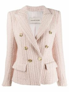 Alexandre Vauthier classic fitted blazer - Pink