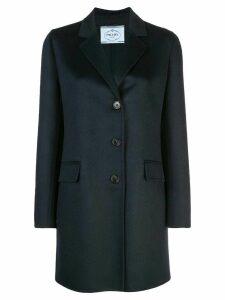 Prada tailored longline blazer - Blue