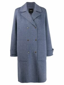 Theory military coat - Blue