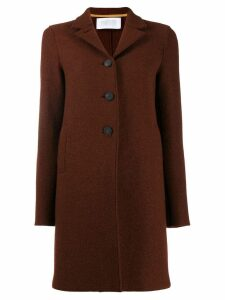 Harris Wharf London single breasted coat - Brown