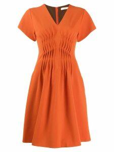Dorothee Schumacher short flared dress - Orange