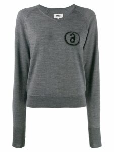 Mm6 Maison Margiela knitted jumper - Grey