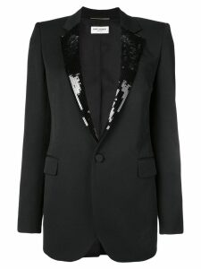 Saint Laurent tailored wool blazer - Black