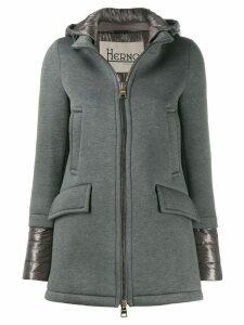 Herno hooded zip-up jacket - Grey