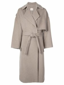 Khaite oversized trench coat - Grey