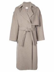 Khaite oversized trench coat - Grey