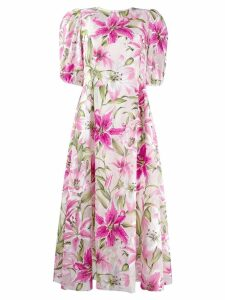 Dolce & Gabbana lily tea dress - Pink